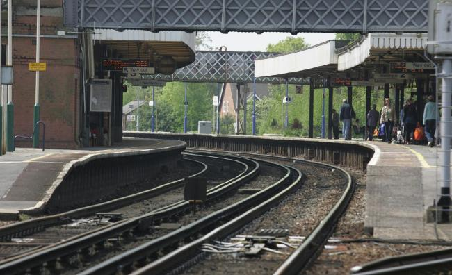Trains cancelled between two stations in the New Forest