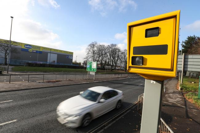 Speed Camera on the A33 Redbridge Road.