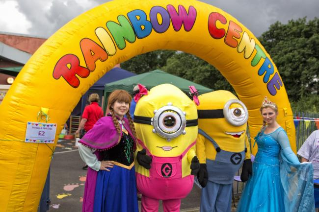 Rainbow Centre Family Fun Day.