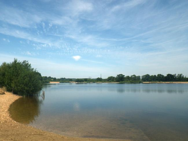 Testwood Lakes nature reserve, Totton