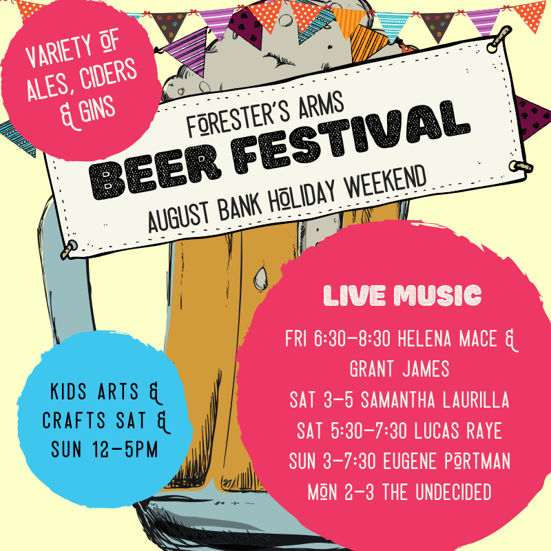 Foresters Beer, Cider & Gin festival!