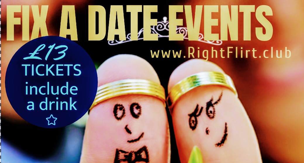 Fix A Date Singles Event | alternative to Speed Dating