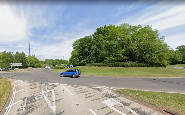 Motorcyclist suffered life threatening injuries and is in a