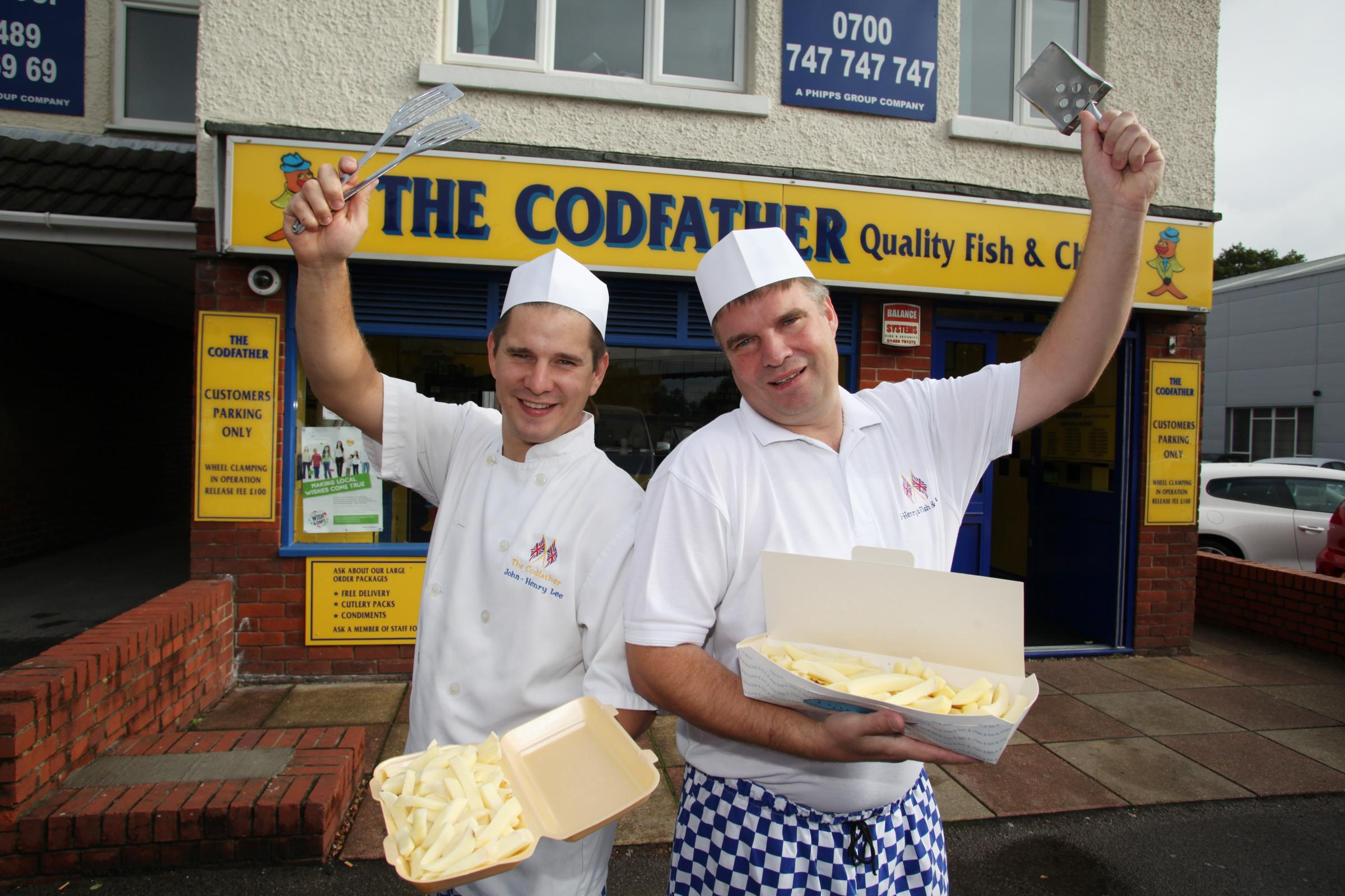 Best Fry Fish and Chips earns Fish and Chip Quality Award | Daily Echo