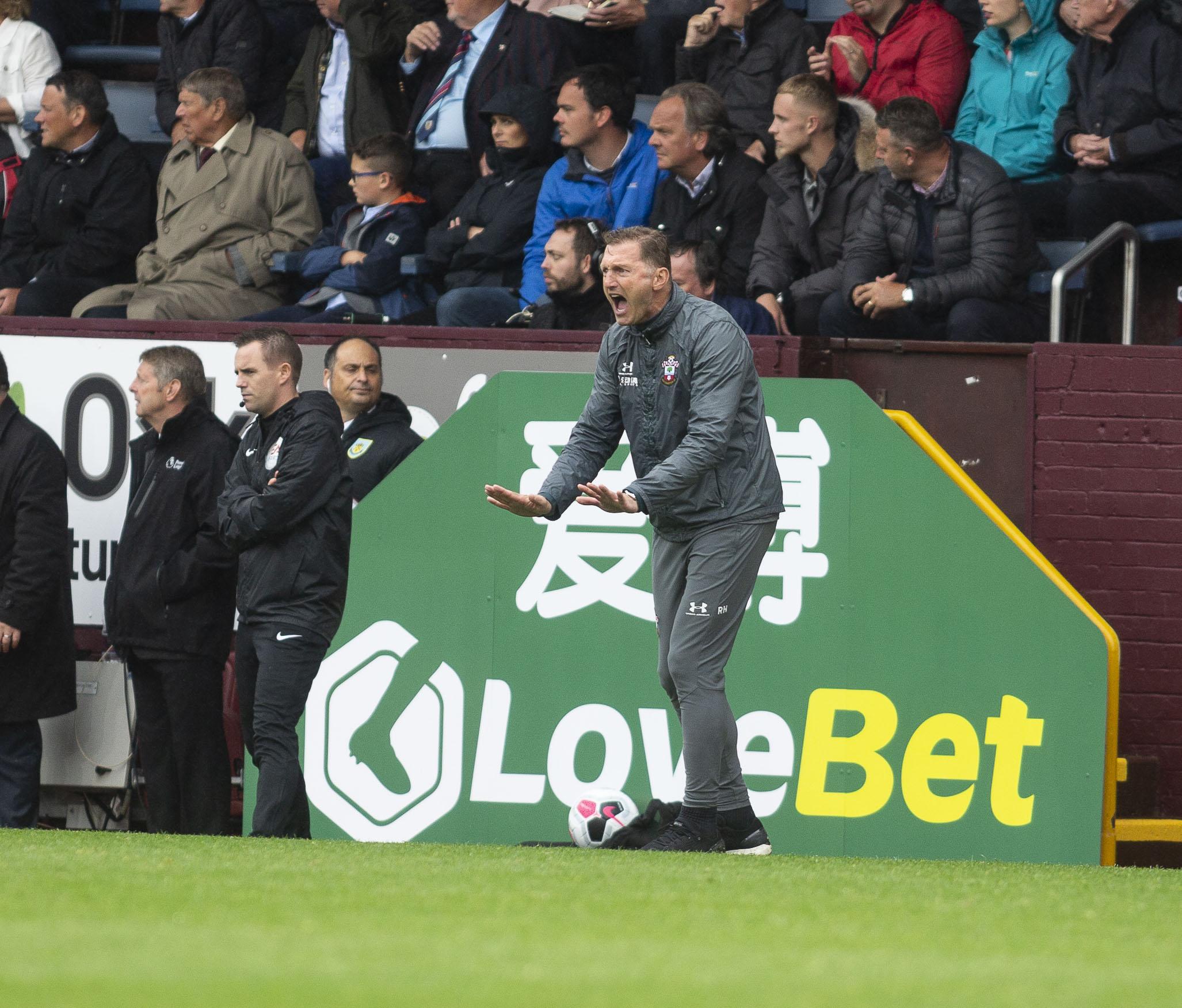Southampton boss Ralph Hasenhuttl on his attacking options
