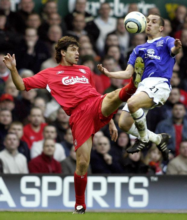 Daily Echo: Former Saints boss Mauricio Pellegrino in action for Liverpool