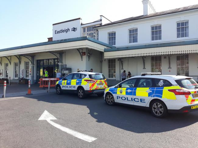Incident at Eastleigh train station