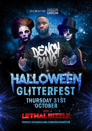 Halloween Glitterfest with Lethal Bizzle