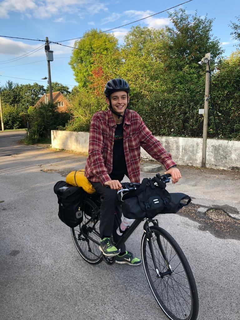 It started as a joke': This man is riding 1,000 miles to