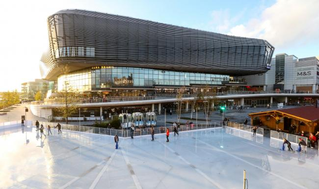 Southampton Christmas Ice Rink called Skate opens at WestQuay.