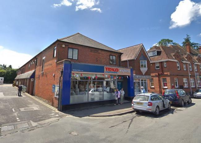 The Tesco store in Brookley Road, Brockenhurst. Picture: Google.