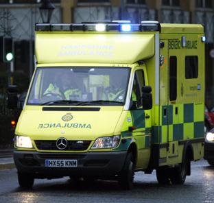 ON CALL: A Hampshire ambulance