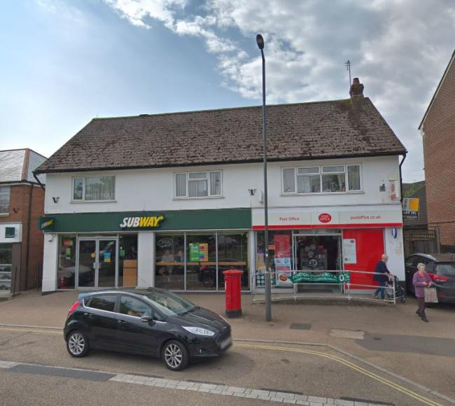 The existing building in Water Lane, Totton. Picture: Gogle Maps.