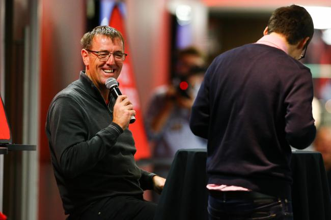 Matt Le Tissier at the Big Saints Quiz