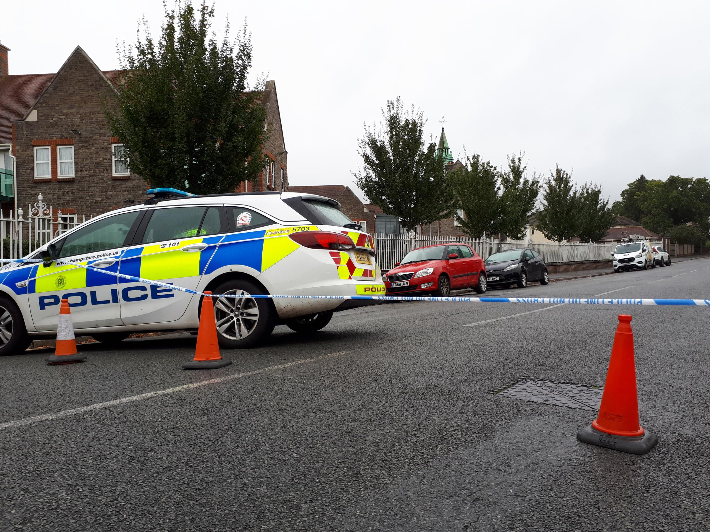 Five Lamps area cordoned off by police