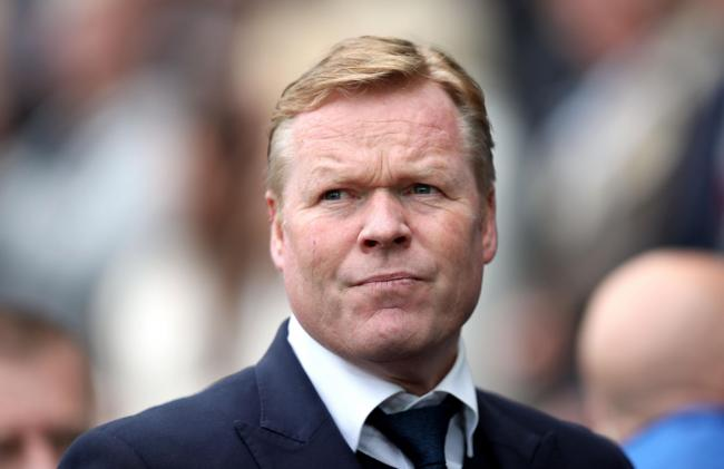 File photo dated 06-05-2017 of Everton manager Ronald Koeman. PRESS ASSOCIATION Photo. Issue date: Sunday August 20, 2017. Ronald Koeman rates Manchester City as a better team than last season - but still believes they have a weakness that Everton can exp