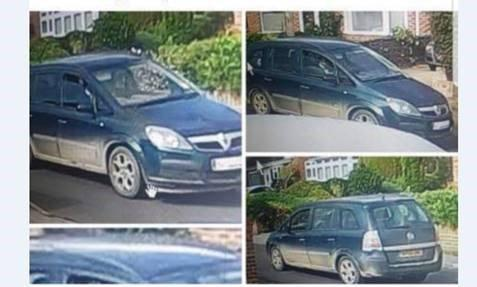 Police would like to trace the owner of this vehicle.