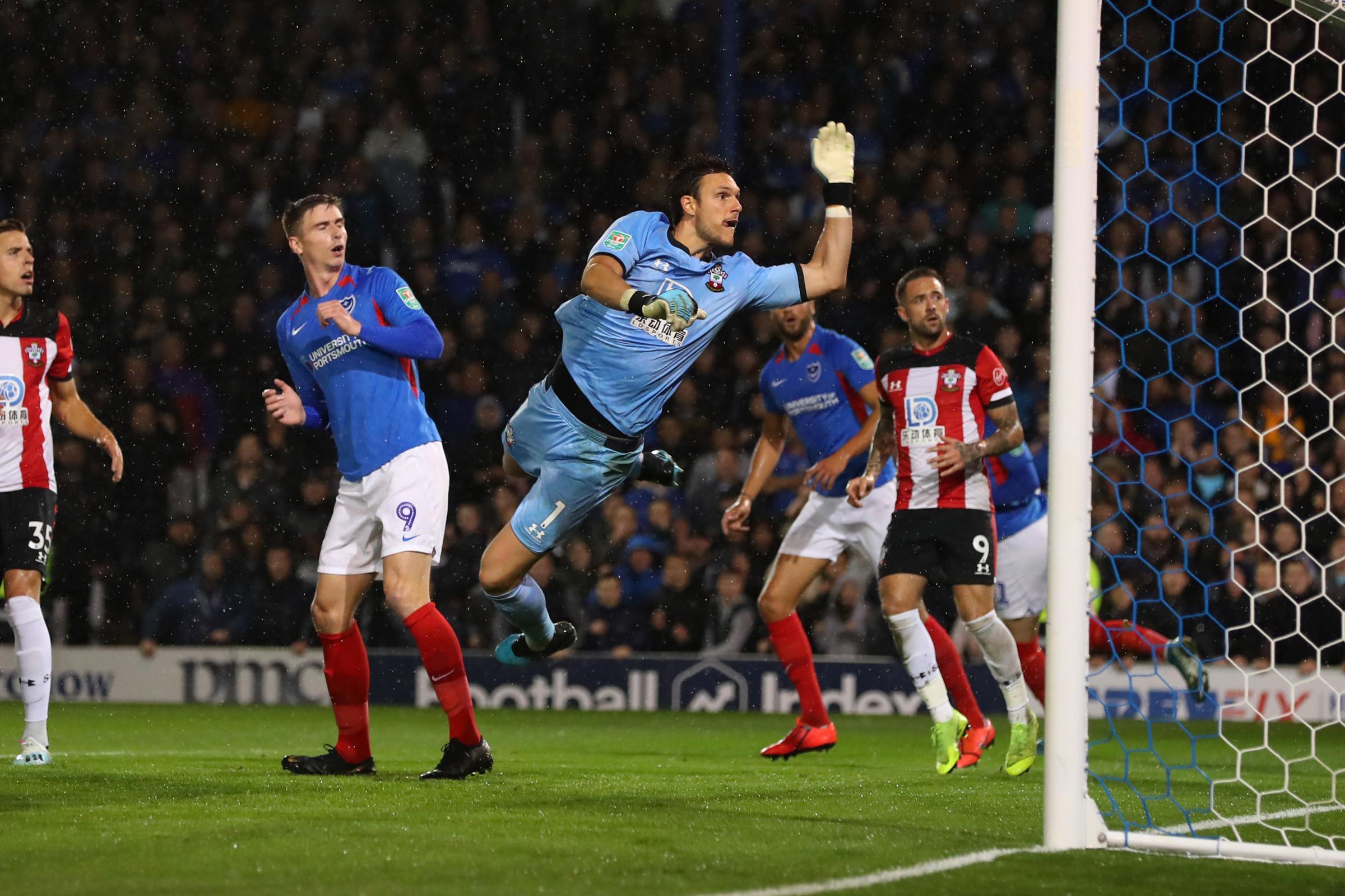 Southampton boss Ralph Hasenhuttl discusses Angus Gunn and Alex McCarthy