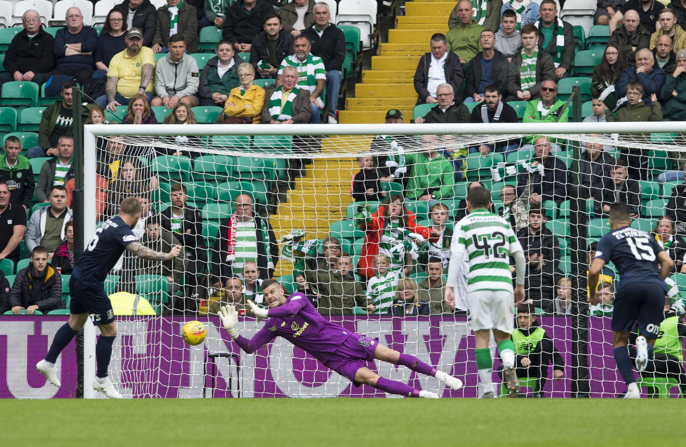 Fraser Forster: It's great to have played 200 games for Celtic