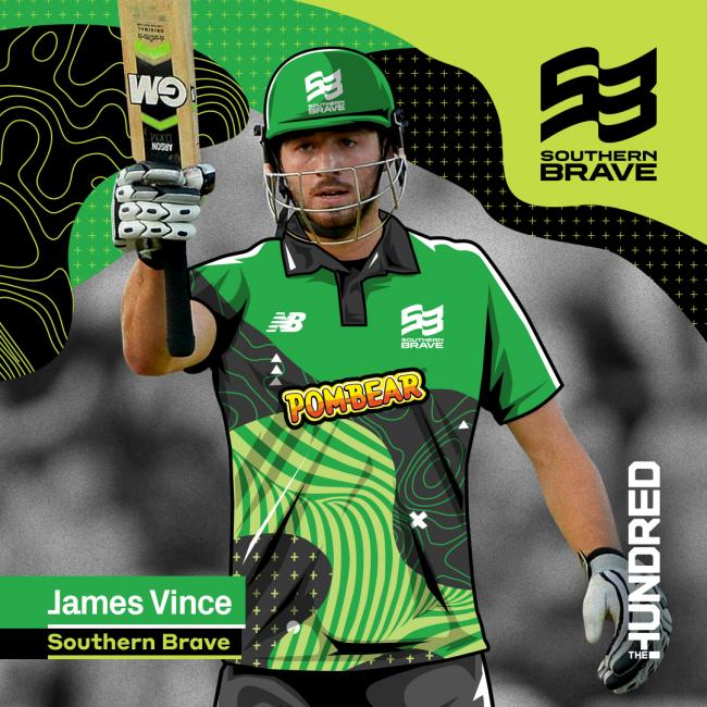 A Brave new world for Hampshire captain James Vince