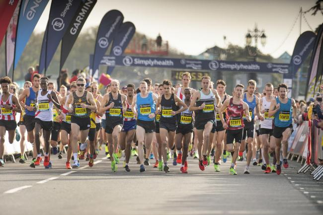 The Great South Run, 2019