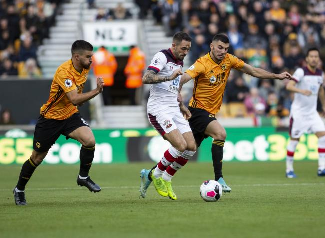 Danny Ings...All the action from the Premier League game between Southampton v Wolverhampton at The Molineux, October 10 2019..