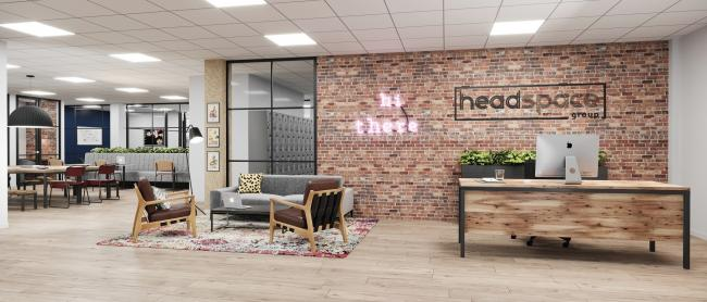 Co-working specialist Headspace Group is currently refurbishing new premises in Grosvenor House, Southampton