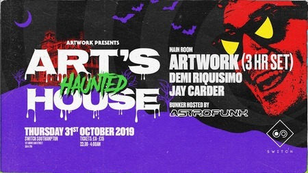 Artwork Presents: Art's Haunted House