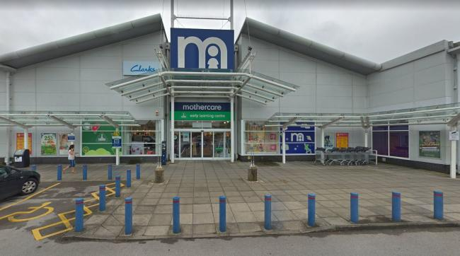 Mothercare at West Quay Retail Park, Southampton. Photo: Google Street View