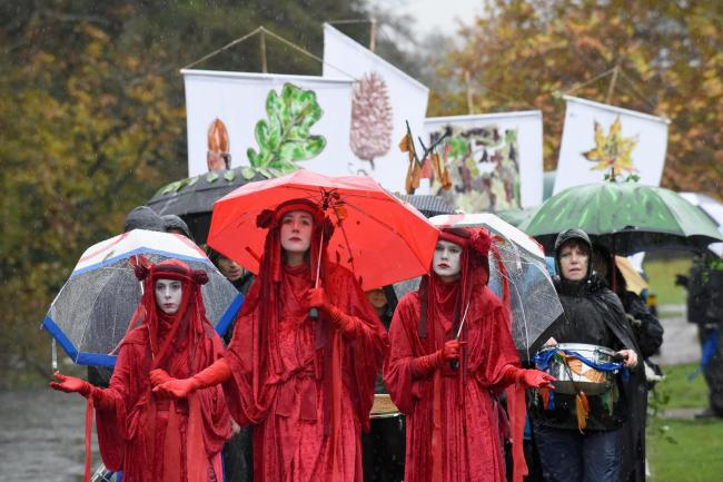 Extinction Rebellion Southampton staged a March For Marlhill Copse last year