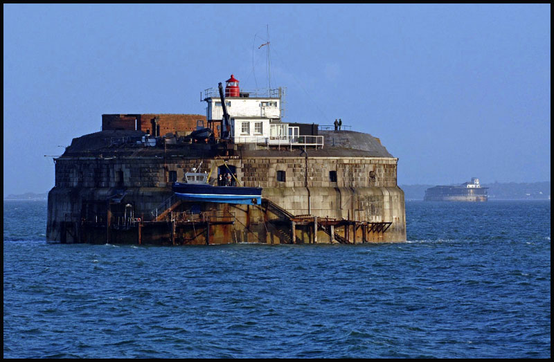 Spitbank fort wins top award
