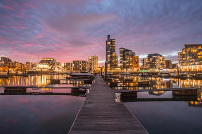 Ocean Village photographed by Daily Echo Camera Club member Matt Pinner