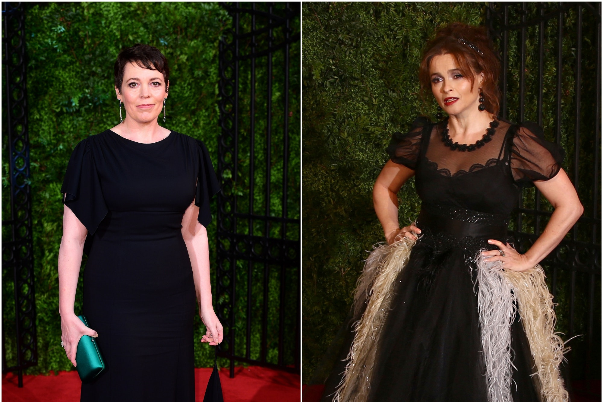 Olivia Colman and Helena Bonham Carter turn heads at The Crown premiere - Daily Echo