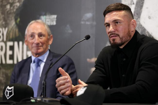 Toronto Wolfpack chief executive Bob Hunter, left, has likened Sonny Bill Williams to LeBron James and David Beckham