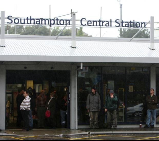 Daily Echo: Southampton Central Station