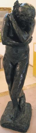 A Rodin sculpture, which is being considered for sale