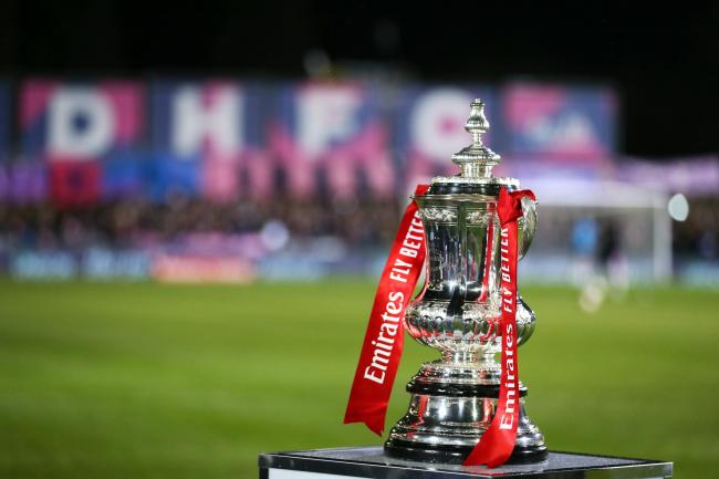 A general view of the FA Cup