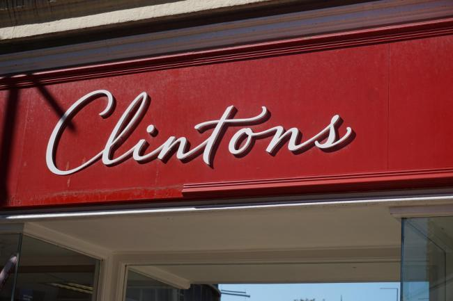 2,500 jobs have been saved at Clintons