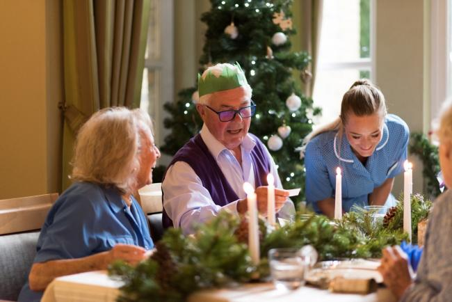Northlands House and Wilton Manor Bupa care homes are inviting the eldery in this Christmas.