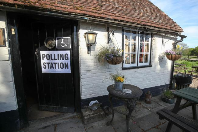 The pub with no name will be a polling station