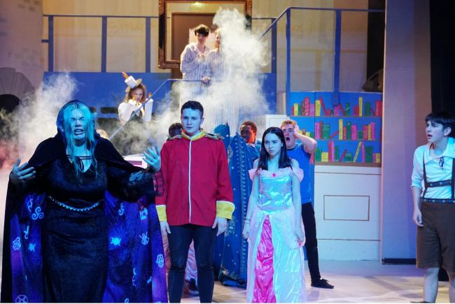 Southampton City College Performing Arts students are performing Beauty and the Beast as a pantomime