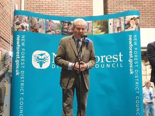 Comfortable Conservative seat retained in the New Forest East