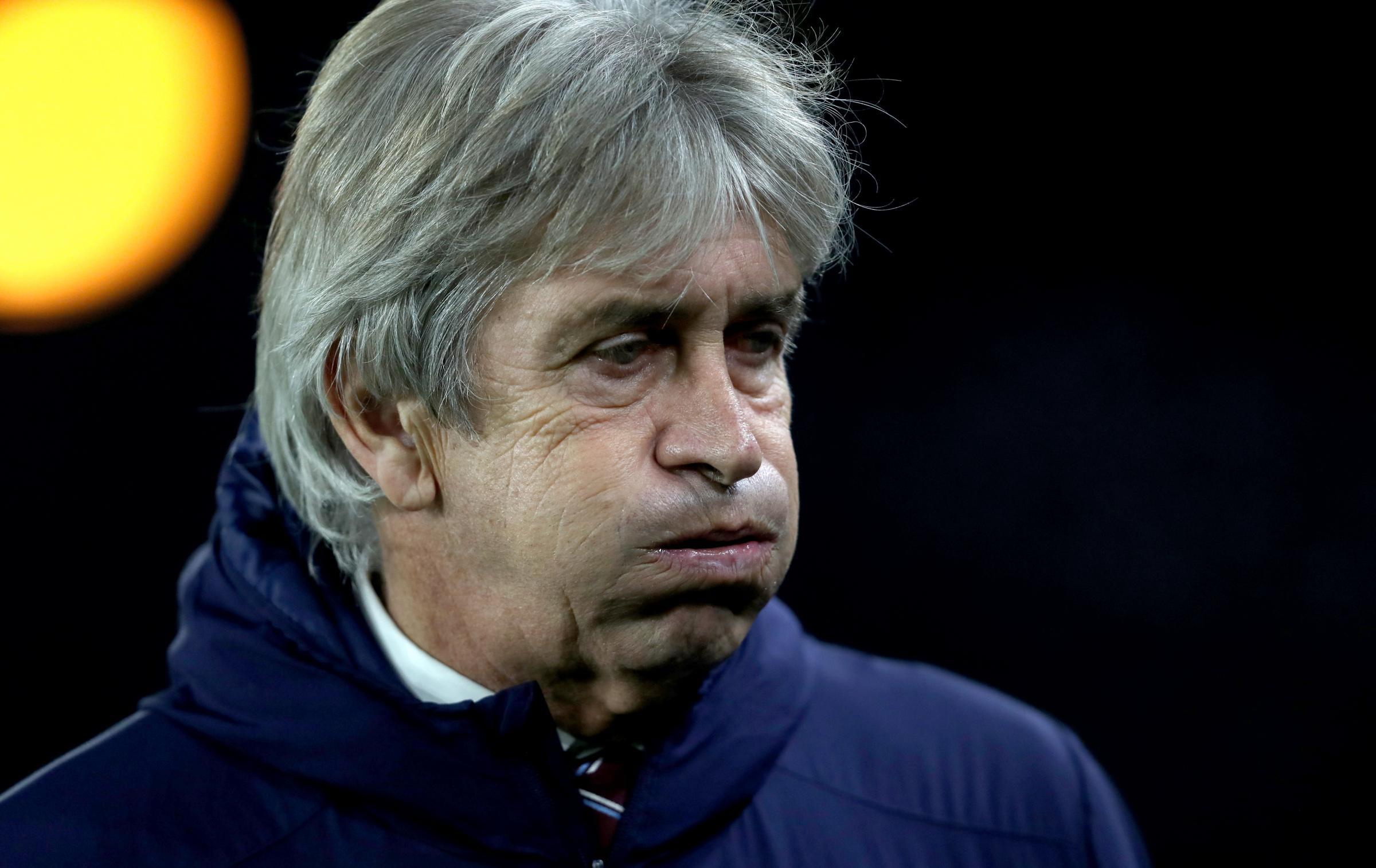 West Ham boss Manuel Pellegrini believes he has the board's support