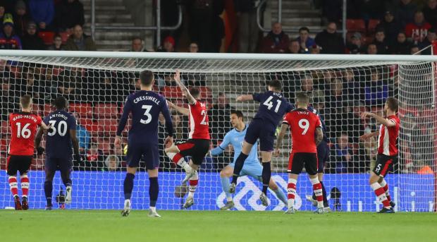 Southampton 0 West Ham 1: Saints remain in the bottom three