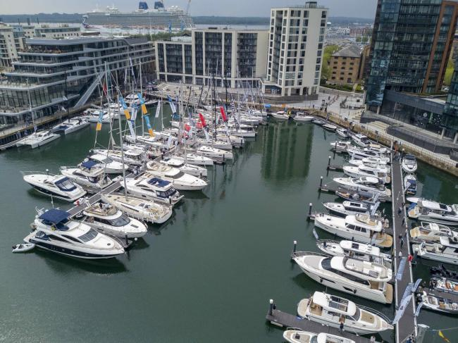 This year's South Coast Boat Show at Ocean Village
