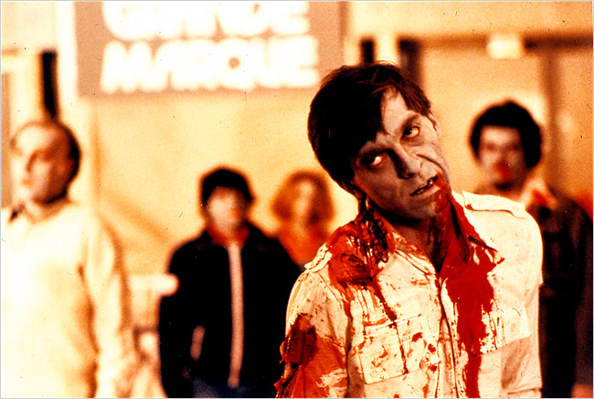Dawn of the Dead is among the films to be screened