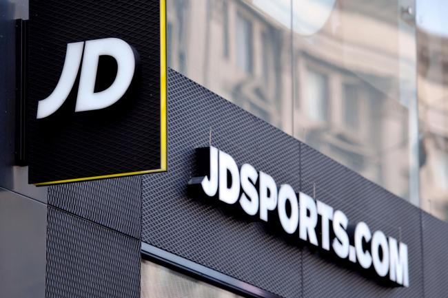 JD Sports sees sales rise 10 per cent