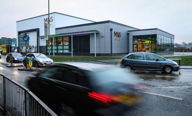 The M&S Food store in Eastleigh