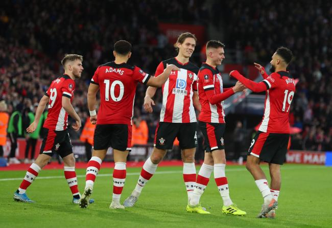 Saints learn FA Cup fourth-round fate