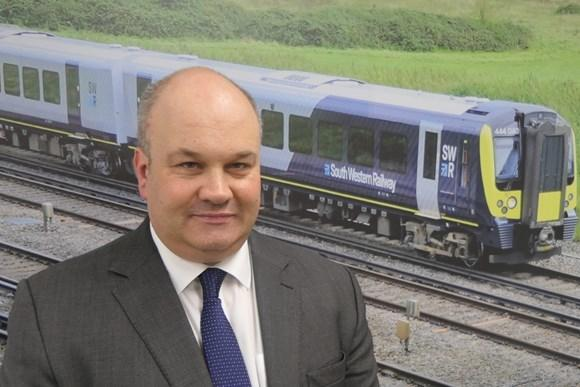Mark Hopwood, new managing director of South Western Railway